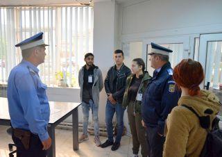 "Job Shadow Day la Jandarmerie. Patru elevi din Sebiș, ,,umbra"" unui jandarm"