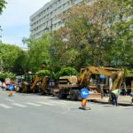 Lucrări la rețeaua de canalizare pe Bulevardul Revoluţiei. Unde se modifică circulația