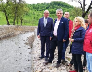 Ministrul Apelor și Pădurilor, în vizită în județul Arad