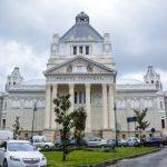Orgă de 13 tone, montantă în sala de concerte a Filarmonicii de Stat din Arad