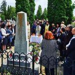 Parastas pentru Elena Ghiba Birta, la cimitirul Eternitatea