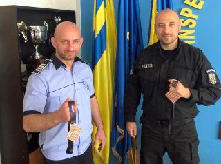 Polițiști arădeni, medaliați cu bronz la un concurs de Brazilian Jiu-Jitsu