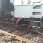 UPDATE Locomotiva unui tren de călători a deraiat la Bârzava