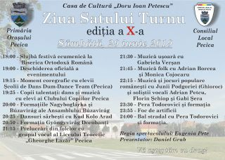 Ziua Satului Turnu 2019. PROGRAM