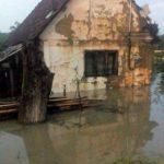 Zeci de gospodării au fost inundate în urma unei ploi torenţiale
