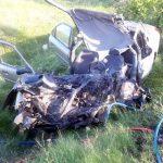 Accident pe DN 79. Un șofer a murit, iar alte două persoane au fost rănite