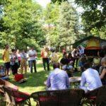 Bibliotecă în aer liber și activități pentru copii în două parcuri din Arad