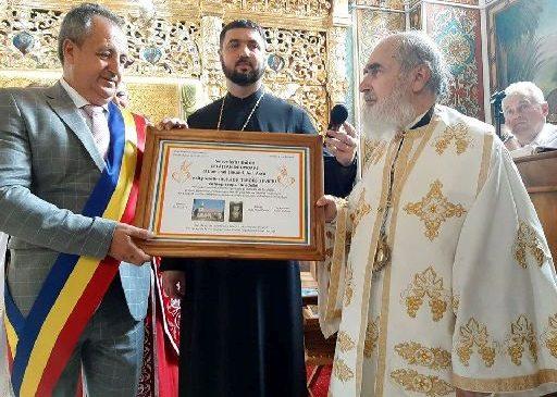 IPS Timotei, arhiepiscopul Aradului, Cetăţean de Onoare al comunei Şimand