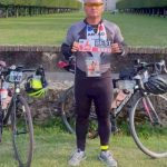 Performanța unui pompier arădean: 1.200 de kilometri în 88 ore, pe bicicletă