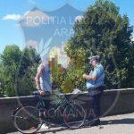 Bicicliştii care nu ciculă pe piste în zonele cu astfel de amenajări, amendaţi