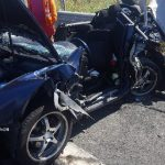 UPDATE Accident pe autostradă. Patru adulți și trei copii, răniți