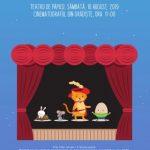 """Teatru de păpuși """"Motanul încălțat"""", pe scena cinematografului din Grădiște"""