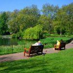 Parc de agrement amenajat pe malul râului Mureș, în cartierul Micălaca