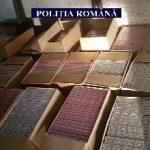 Depozit cu ţigări de contrabandă, descoperit în Arad