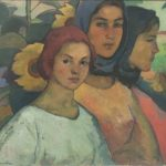 "Pictura ""Trei surori"" – exponatul lunii septembrie, la Complexul Muzeal Arad"
