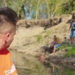 Operaţiune de salvare pe malul Mureşului: Un pescar a alunecat şi a ajuns în nămol