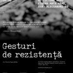 """Documentarul """"Gesturi de rezistență"""", la Cinematograful Arta"""