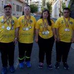 """Medalii pentru delegația Asociației """"Integra"""" la Jocurile Naționale Special Olympics"""