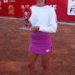 Andreea Mitu a câștigat turneul internațional de tenis de la Arad