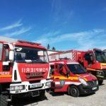 Aproape 900 de misiuni ale pompierilor militari arădeni, în luna ianuarie 2021