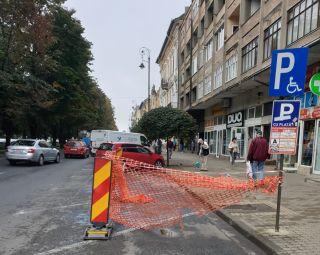Compania de Apă Arad: S-au reluat lucrările la reţelele de pe Bulevardul Revoluţiei