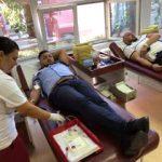 Polițiștii rutieri din Arad au donat sânge