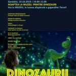 """Eveniment la Complexul Muzeal Arad. """"Noaptea la muzeu. Printre dinozauri"""""""