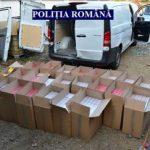 Țigări de contrabandă, găsite la un bărbat care era arestat la domiciliu