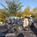 UPDATE Accident pe DN 79, la Șimand. Un rănit grav transportat cu elicopterul la spital