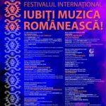 """Festivalul Internațional """"Iubiți Muzica Românească"""". Concert simfonic inaugural"""