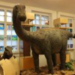 """Expoziţia """"Dinozaurii – O lume dispărută"""", la Complexul Muzeal Arad"""
