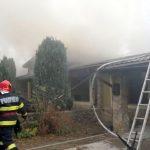 Incendiu în Cartierul Verde. A fost pericol de extindere la întregul complex de locuințe