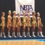 Sportivele de la C.S. Mistral Arad, la Campionatul European de Majorete din Italia