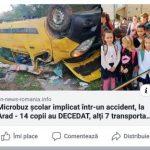 Știre falsă despre un presupus accident în județul Arad
