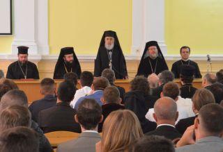 Deschiderea noului an universitar 2019-2020 la Facultatea de Teologie din Arad, în prezența a trei ierarhi