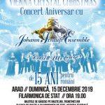 "Concert aniversar ""Vienna Crystal Christmas"". Johann Strauss Ensemble, la Filarmonica de Stat din Arad"
