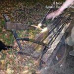 Un tânăr nervos a distrus o bancă din Parcul Europa. Polițiștii locali l-au amendat