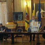 Primari din Ungaria în vizită la Primăria Arad. Interes pentru politicile economice locale