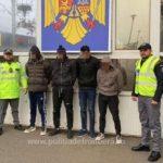 Nouă cetăţeni străini, descoperiți când încercau să iasă ilegal din România