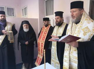 Ierarhii arădeni au participat la hramul Cantinei sociale a Arhiepiscopiei Aradului