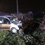 UPDATE Coliziune între un autoturism și o căruță, între Curtici și Macea. Un tânăr a fost rănit grav