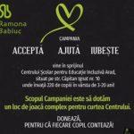 """""""Acceptă, ajută, iubește"""". Fii alături de copiii de la Centrul Școlar pentru Educație Incluzivă Arad!"""