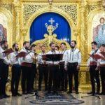 """Concert extraordinar susținut de Grupul psaltic ,,Chivotul"""" din Iași, la Arad"""