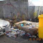 Operatorul serviciului de salubrizare din Arad, amendat de polițiștii locali