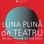"""""""Luna plină de teatru"""", ediția 2020. PROGRAM"""