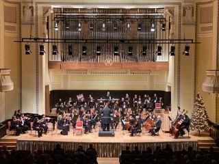 Orga din sala de concerte a Palatului Cultural din Arad, pusă în funcțiune