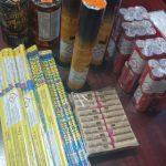 Țigări netimbrate și petarde, confiscate de jandarmii arădeni