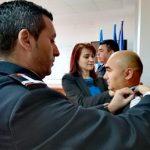 Pompieri din cadrul ISU Arad, avansați în grad înainte de expirarea stagiului minim