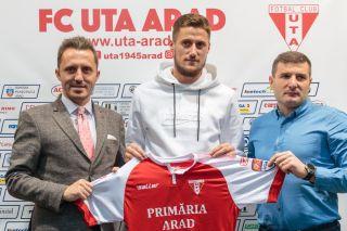 Radu Crişan a devenit jucătorul UTA-ei