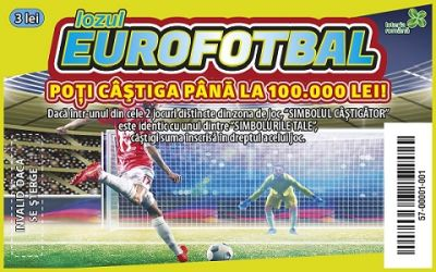 Loteria Română lansează lozul Eurofotbal